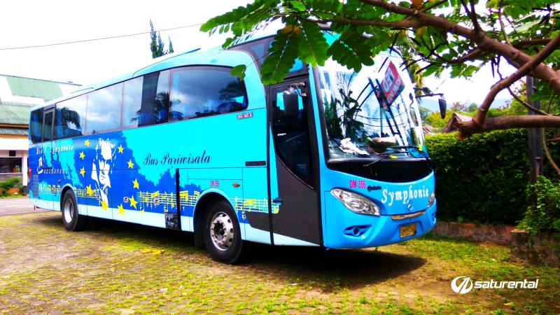 foto bus pariwisata symphonie b