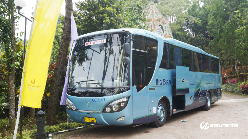 saturental - foto bus pariwisata big bird b
