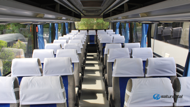saturental - foto bus pariwisata white horse c