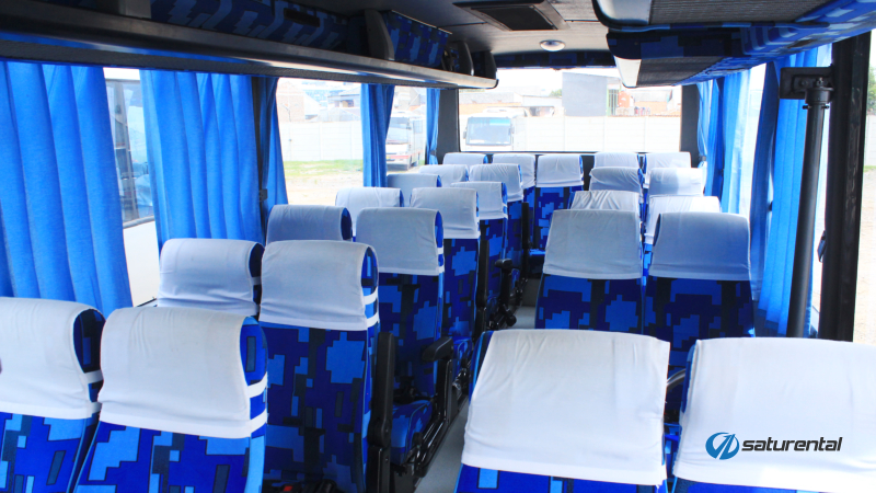saturental - foto bus pariwisata white horse j
