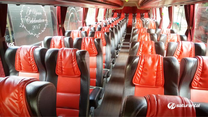 saturental - foto bus pariwisata manhattan 47s plus scania interior a