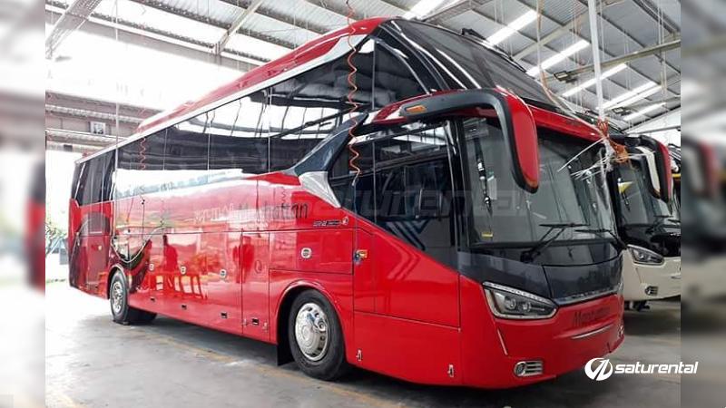 saturental - foto bus pariwisata manhattan 47s shd terbaru b