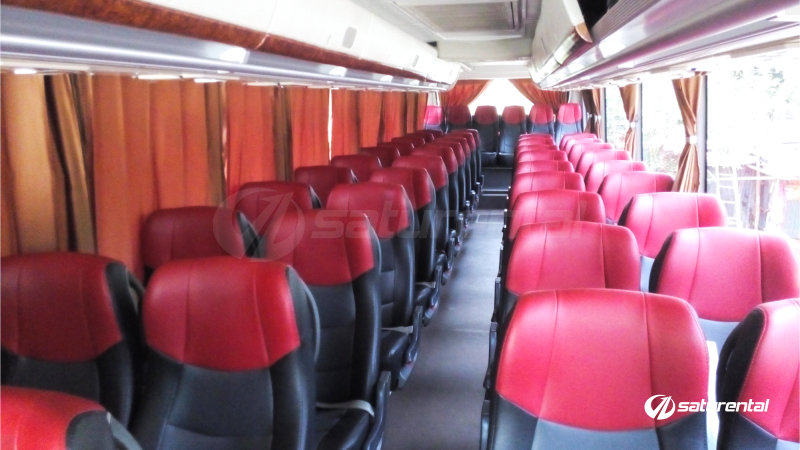 saturental - foto bus pariwisata antavaya big bus 47 seats interior a