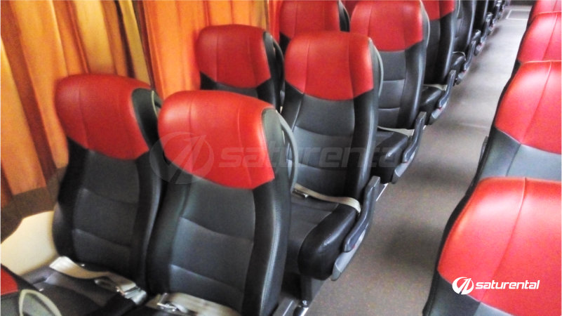 saturental - foto bus pariwisata antavaya big bus 47 seats interior b