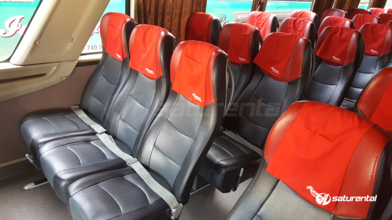 saturental - foto bus pariwisata antavaya big bus 59 seats interior a