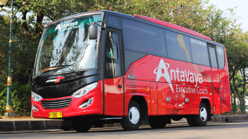 saturental - foto bus pariwisata antavaya medium bus 27 31 seats e