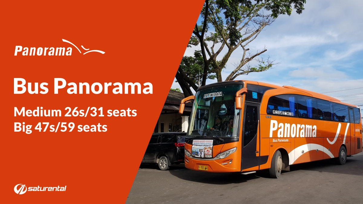 a saturental - foto bus pariwisata panorama