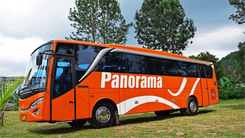 g saturental - foto bus pariwisata panorama big 47 59 seats