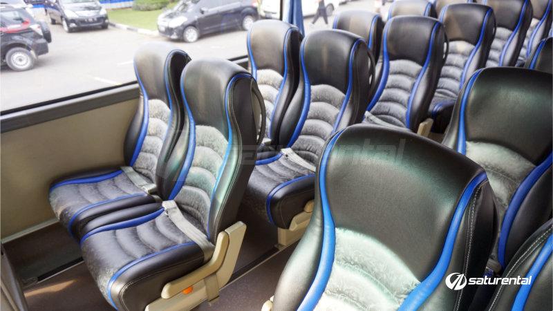 l saturental - foto bus pariwisata panorama interior dalam big 47 seats