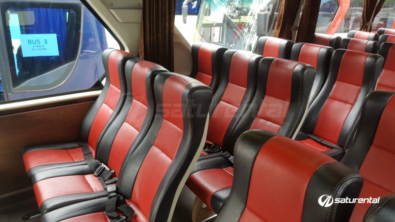 saturental - foto bus pariwisata arion interior dalam big 59 seats h