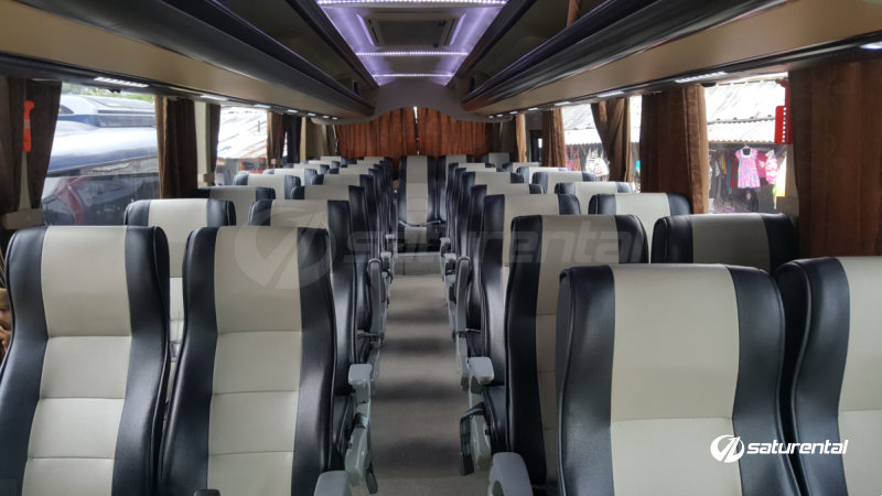 saturental - foto bus pariwisata arion interior dalam medium 33 seats f