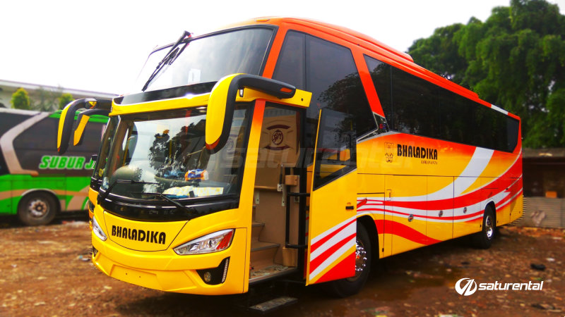 saturental - foto bus pariwisata bhaladika shd 45 59 seats c