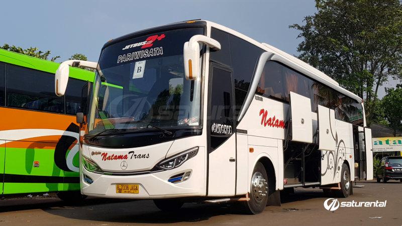 saturental - foto bus pariwisata natama trans big 45 59 seats a