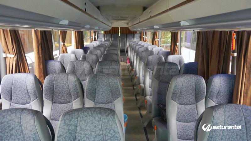 saturental - foto bus pariwisata natama trans interior dalam hdd 59 seats a