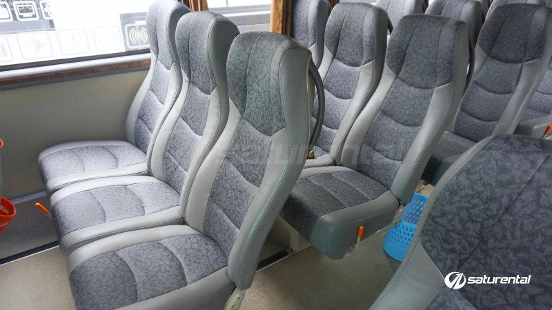 saturental - foto bus pariwisata natama trans interior dalam hdd 59 seats b