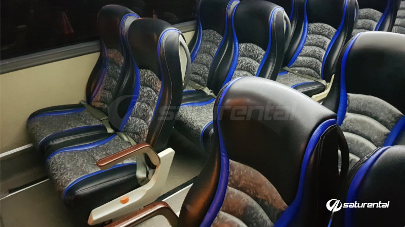 y saturental - foto bus pariwisata panorama interior dalam big 47 seats