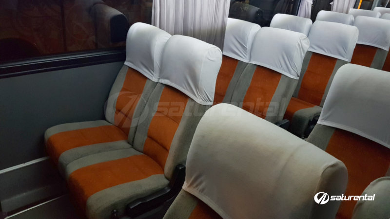 z saturental - foto bus pariwisata panorama interior dalam medium 31 seats