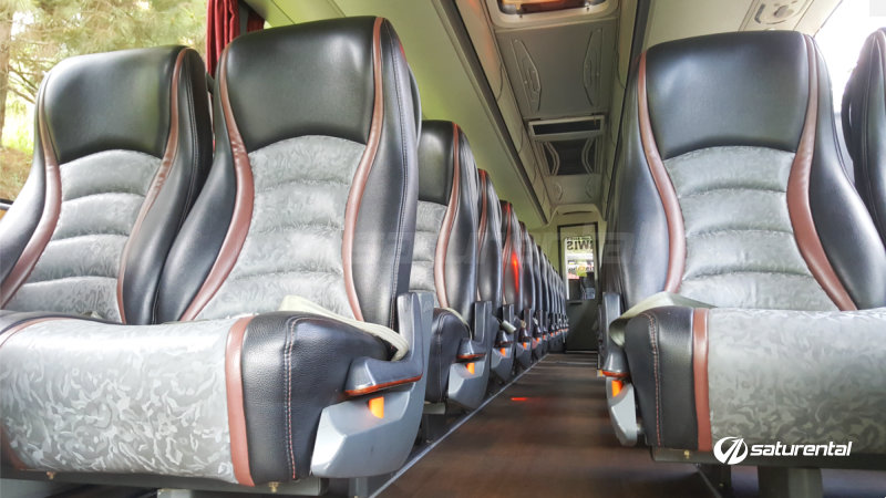 saturental - foto bus pariwisata marissa holiday interior dalam big bus 47 seats e