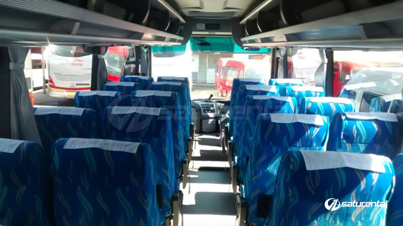 faturental - foto bus pariwisata white horse medium bus interior dalam 27 31 seats e