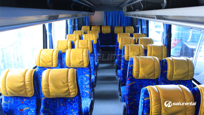saturental - foto big bus pariwisata symphonie medium interior dalam 29 seats a