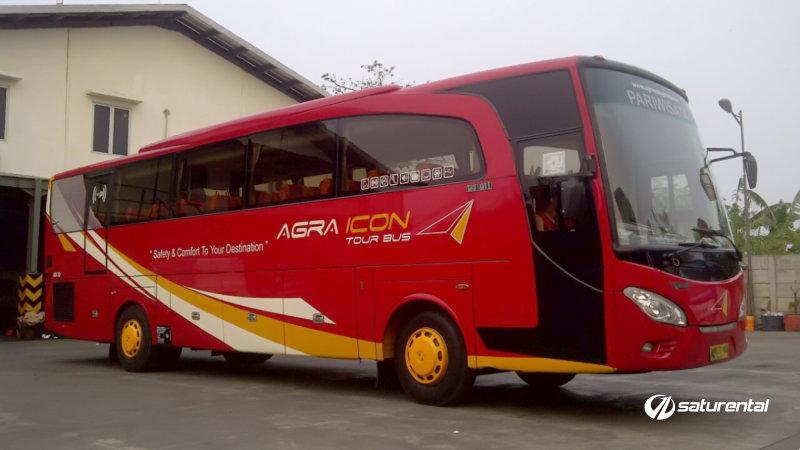 saturental - foto bus pariwisata agra icon big bus 45 48 59 seats b