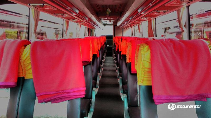 saturental - foto bus pariwisata agra icon big bus interior dalam 45 48 59 seats a