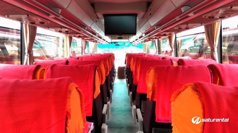 saturental - foto bus pariwisata agra icon big bus interior dalam 45 48 59 seats b