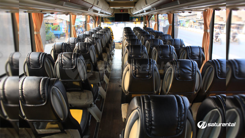 saturental - foto bus pariwisata beebuzz big bus intrior dalam 48 59 seats b