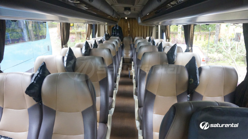 saturental - foto bus pariwisata city trans utama big bus hdd shd terbaru interior dalam 47 59 seats a