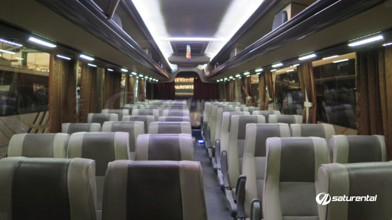 saturental - foto bus pariwisata city trans utama big bus hdd shd terbaru interior dalam 47 59 seats c