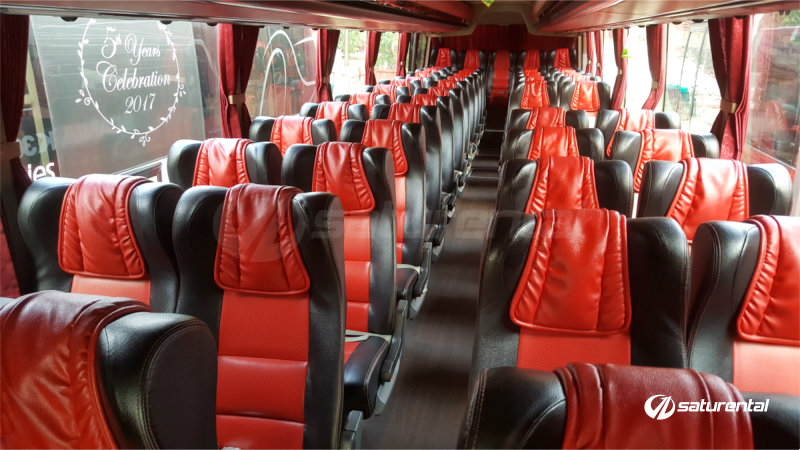 saturental - foto bus pariwisata manhattan 47s plus scania interior aa