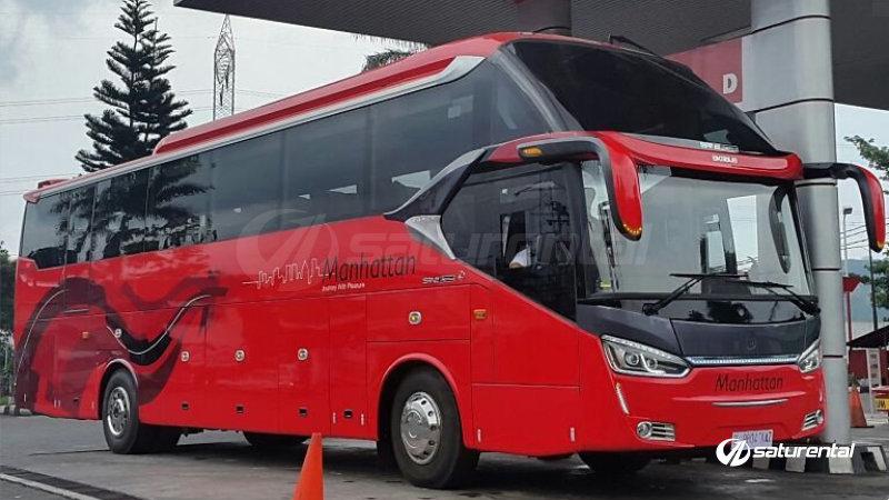 saturental - foto bus pariwisata manhattan 47s shd terbaru aa