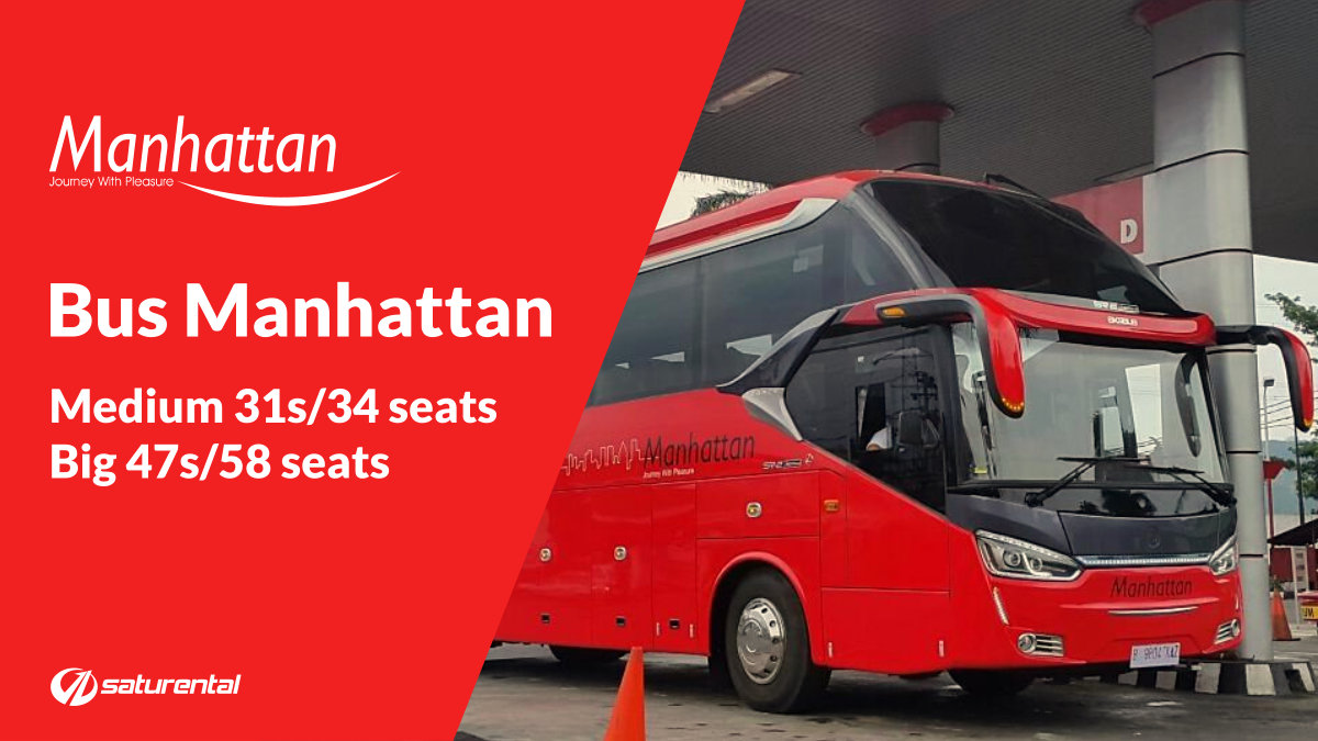 saturental - foto bus pariwisata manhattan aa