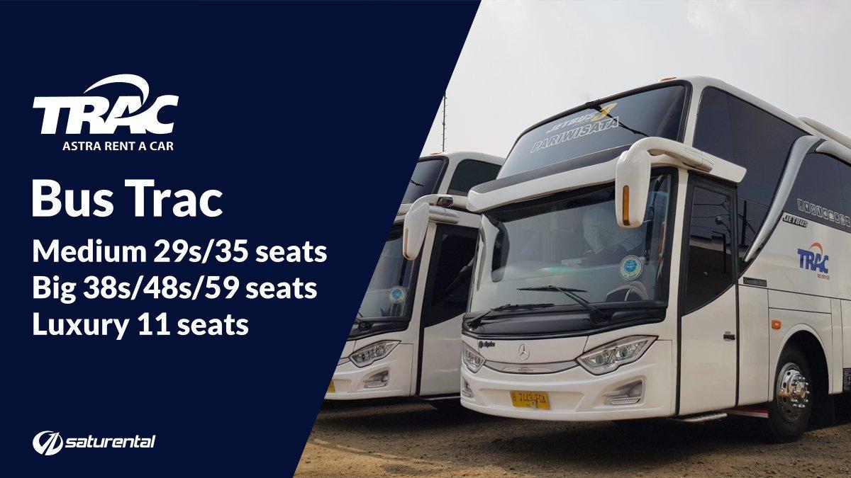 saturental - foto bus pariwisata trac a 1000