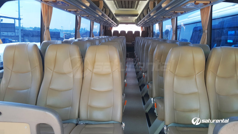 saturental - foto bus pariwisata trac interior dalam big bus 59 seats a