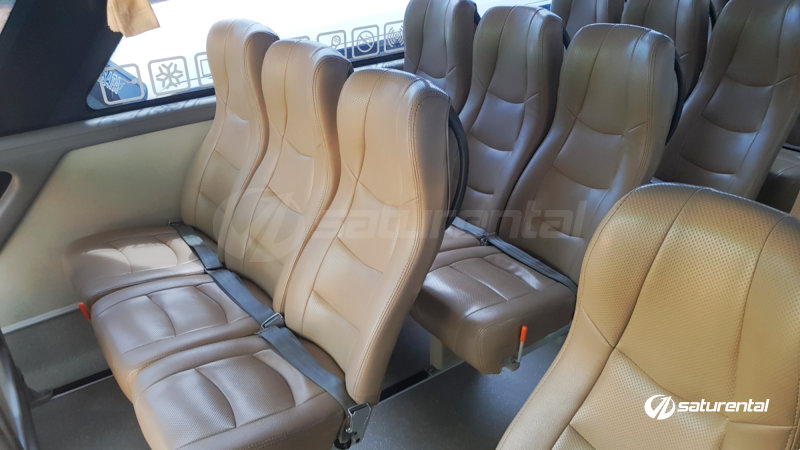 saturental - foto bus pariwisata trac interior dalam big bus 59 seats b