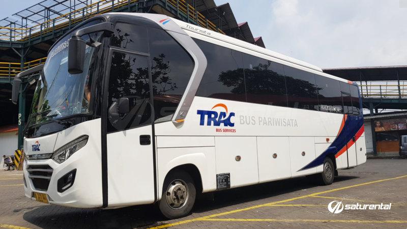 saturental - foto bus pariwisata trac medium bus 29 31 35 seats a
