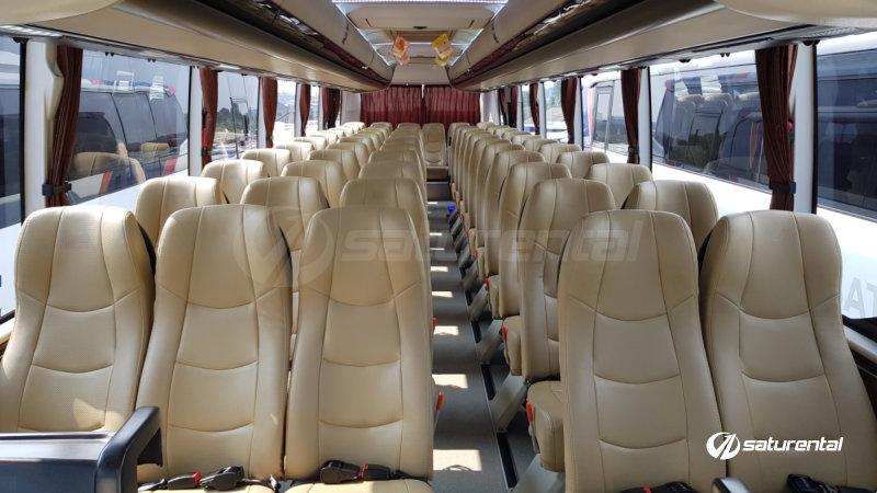 saturental - foto bus pariwisata trac shd hdd terbaru interior dalam 48 59 seats a