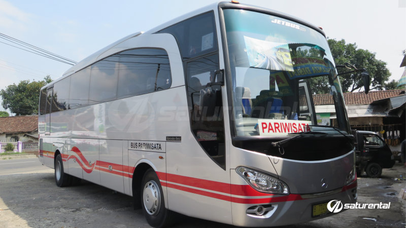 saturental - foto bus pariwisata white horse big bus 38 48 59 seats d