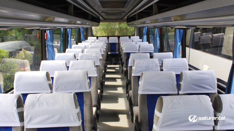 saturental - foto bus pariwisata white horse big bus interior dalam 38 48 59 seats a