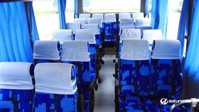 saturental - foto bus pariwisata white horse medium bus interior dalam 27 31 seats d