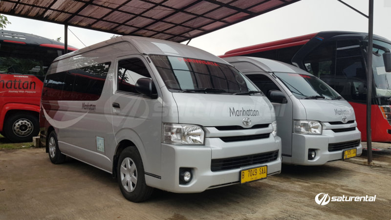 saturental - foto elf hiace pariwisata manhattan 14 15 seats a