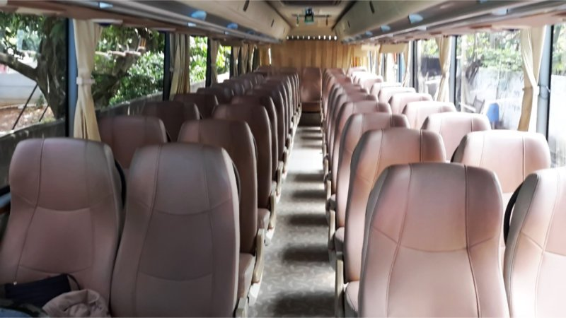 saturental - foto big bus pariwisata kerub interior dalam 43s 54s 56s 59 seats a