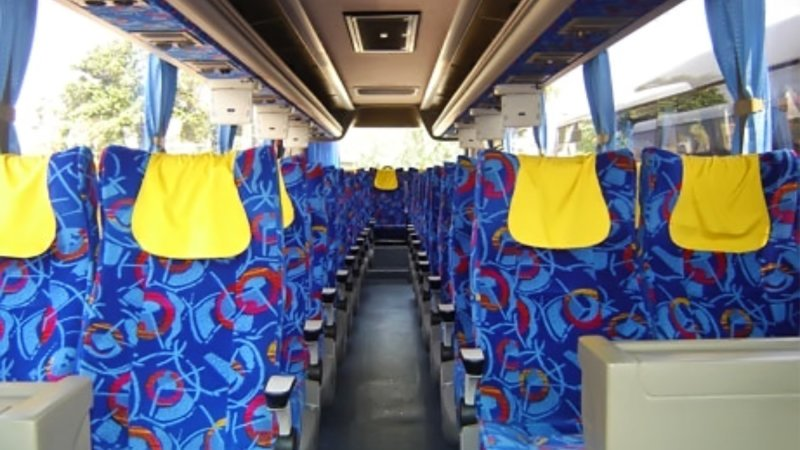 saturental - foto big bus pariwisata kerub shd hdd terbaru interior dalam 43s 54s 56s 59 seats a