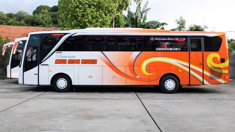 Info Lengkap Foto Dan Harga Sewa Bus Pariwisata Mega Citra