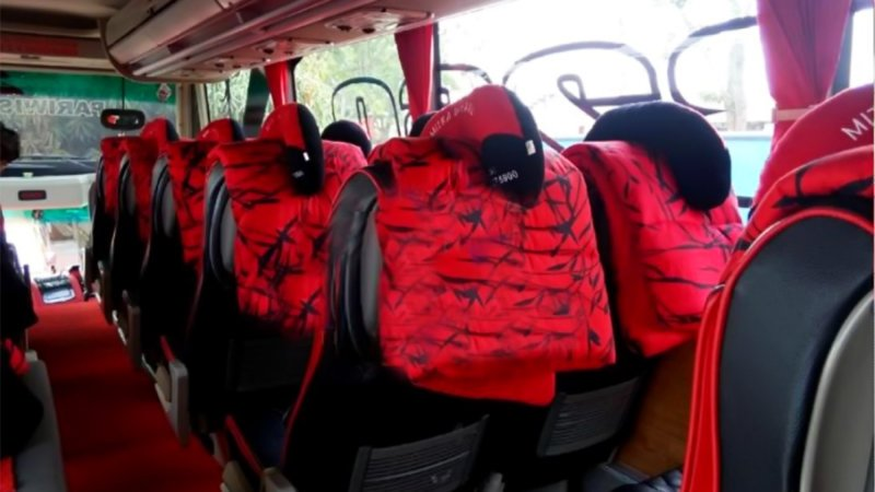 saturental - foto big bus pariwisata mitra rahayu shd hdd terbaru interior dalam 23s 45s 48s 59 seats e