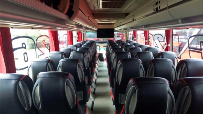 saturental - foto big bus pariwisata mitra rahayu shd hdd terbaru interior dalam 23s 45s 48s 59 seats h