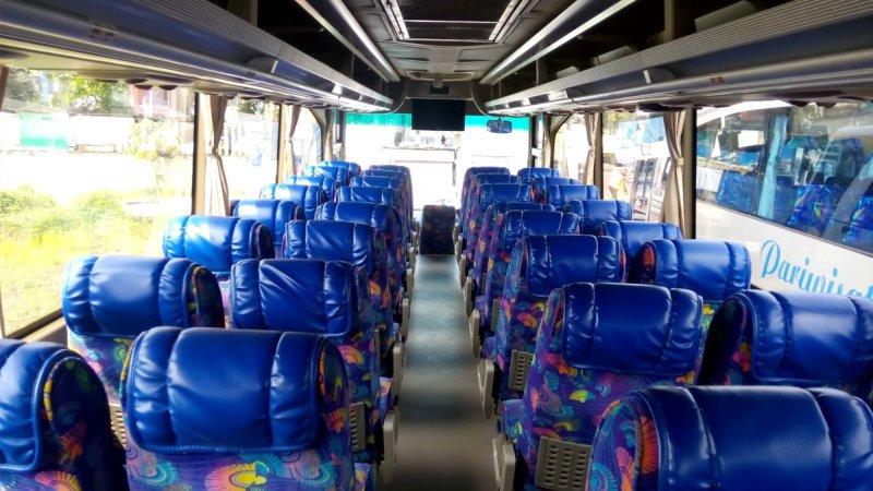 saturental - foto big bus pariwisata ness trans interior dalam 47s 52s 59 seats c
