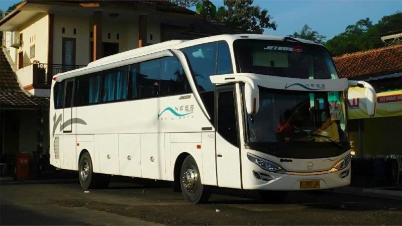 saturental - foto big bus pariwisata ness trans shd hdd terbaru 47s 52 seats a