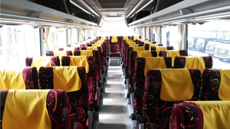saturental - foto big bus pariwisata ness trans shd hdd terbaru interior dalam 47s 52 seats a